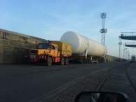Transport of oversized heavylift tanks from China to Bulgaria