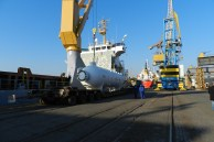 Transport of Gas and Oil equipment from Italy to Bulgaria