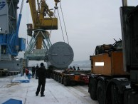 Transport of heavylift Turbo Generator from Russia to Bulgaria